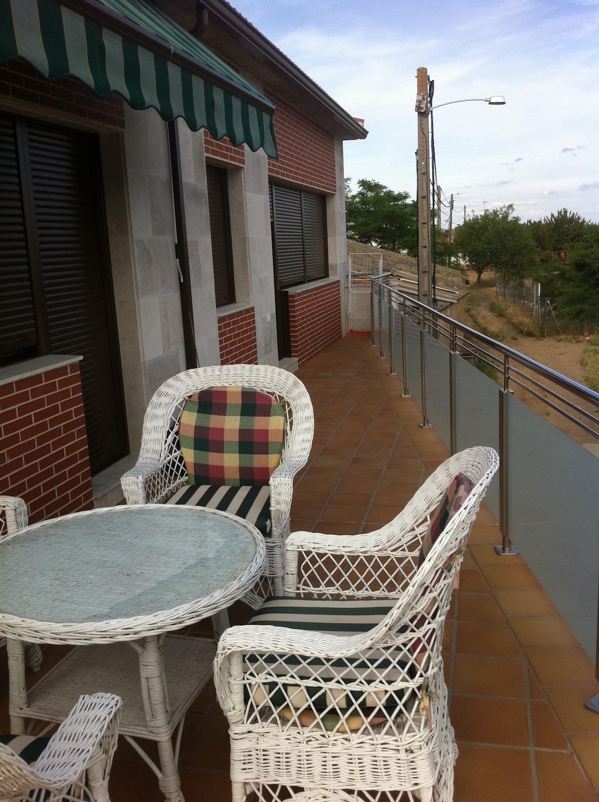 Barandilla terraza especial decorar y reformar terrazas for Especial terrazas