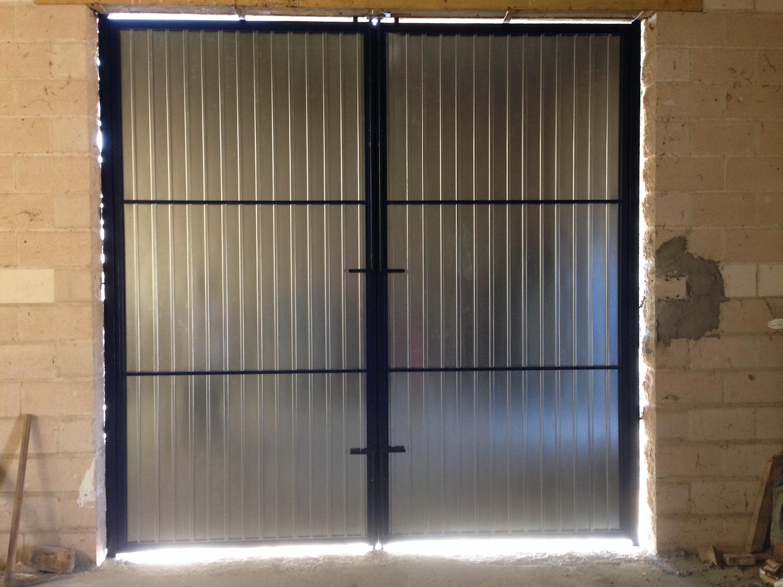 Puertas de chapa precios beautiful perfect latest puertas for Puertas de chapa galvanizada