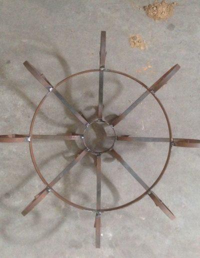 LAMPARAS DE FORJA (2)
